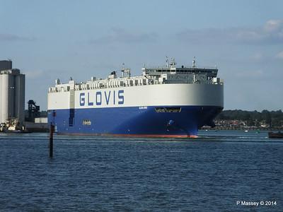 GLOVIS SPIRIT Departing Southampton PDM 22-07-2014 18-10-38