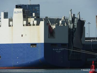 GLOVIS SPIRIT Departing Southampton PDM 22-07-2014 17-48-17
