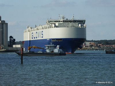 GLOVIS SPIRIT SEAGREEN Southampton PDM 22-07-2014 18-10-12
