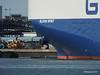 GLOVIS SPIRIT Departing Southampton PDM 22-07-2014 17-56-26