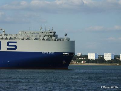 GLOVIS SPIRIT Departing Southampton PDM 22-07-2014 18-13-51