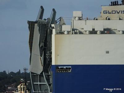 GLOVIS SPIRIT Departing Southampton PDM 22-07-2014 18-13-45