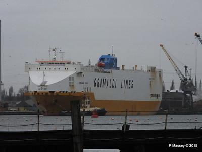 GRANDE EUROPA Departing Southampton PDM 14-01-2015 15-48-47