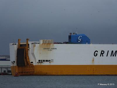 GRANDE EUROPA Departing Southampton PDM 14-01-2015 15-57-25