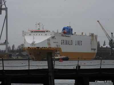 GRANDE EUROPA Departing Southampton PDM 14-01-2015 15-48-49