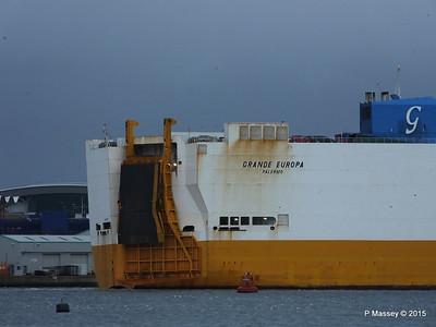 GRANDE EUROPA Departing Southampton PDM 14-01-2015 15-57-020
