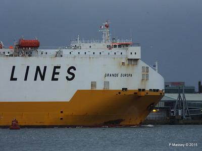 GRANDE EUROPA Departing Southampton PDM 14-01-2015 15-56-54