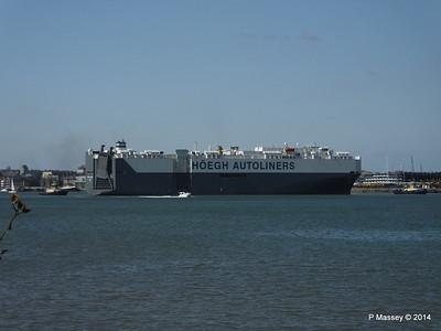 HOEGH TREASURE Departing Southampton PDM 22-07-2014 16-21-31