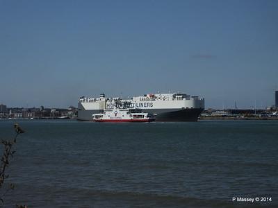 HOEGH TREASURE RED EAGLE Southampton PDM 22-07-2014 16-26-07