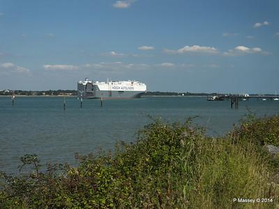 HOEGH TREASURE Departing Southampton PDM 22-07-2014 16-33-58