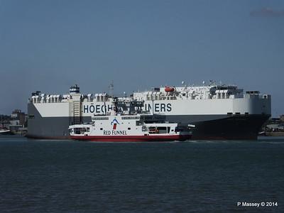 HOEGH TREASURE RED EAGLE Southampton PDM 22-07-2014 16-26-05