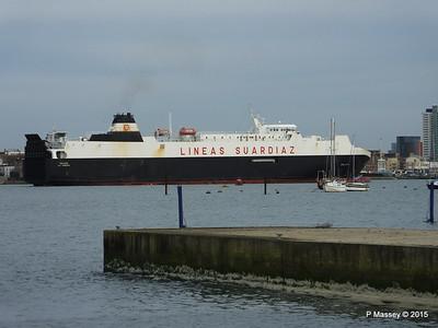 26 Jan 2015 GALICIA Outbound Southampton