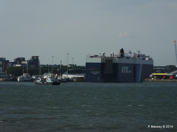 VEGA LEADER Departing Southampton PDM 09-07-2014 19-08-41