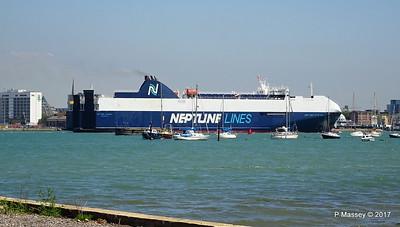 NEPTUNE DYNAMIS Departing Southampton PDM 25-05-2017 12-20-09