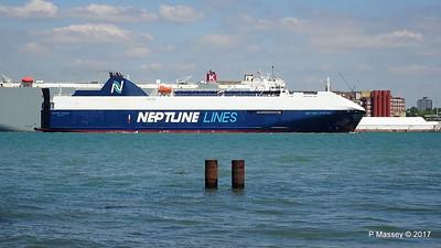 NEPTUNE DYNAMIS Departing Southampton PDM 25-05-2017 12-17-03