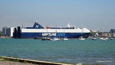 NEPTUNE DYNAMIS Departing Southampton PDM 25-05-2017 12-20-04