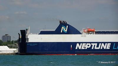 NEPTUNE DYNAMIS Departing Southampton PDM 25-05-2017 12-18-04