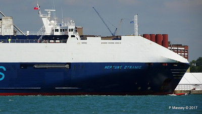 NEPTUNE DYNAMIS Departing Southampton PDM 25-05-2017 12-17-09