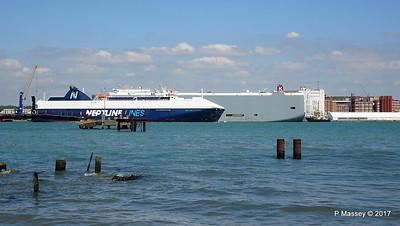NEPTUNE DYNAMIS Passing EURASIAN HIGHWAY Southampton PDM 25-05-2017 12-16-27