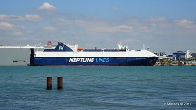 NEPTUNE DYNAMIS Departing Southampton PDM 25-05-2017 12-17-21