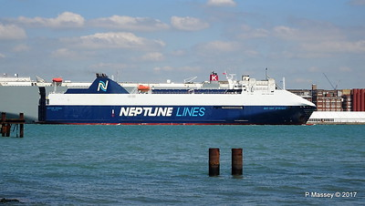 NEPTUNE DYNAMIS Departing Southampton PDM 25-05-2017 12-16-58