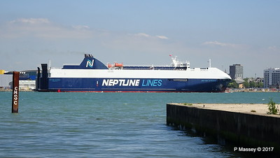 NEPTUNE DYNAMIS Departing Southampton PDM 25-05-2017 12-18-55