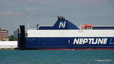 NEPTUNE DYNAMIS Departing Southampton PDM 25-05-2017 12-18-00
