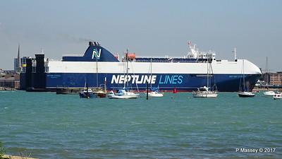 NEPTUNE DYNAMIS Departing Southampton PDM 25-05-2017 12-20-10