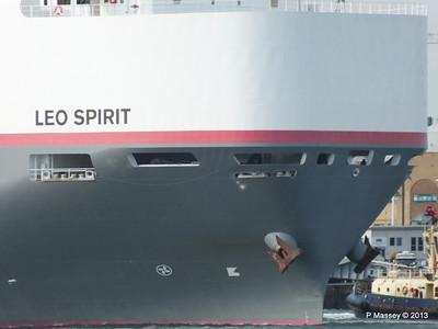 LEO SPIRIT Departing Southampton PDM 10-08-2013 17-43-26