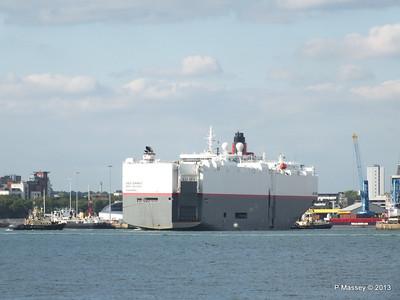 LEO SPIRIT Departs Southampton PDM 10-08-2013 17-33-03