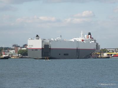 LEO SPIRIT Departs Southampton PDM 10-08-2013 17-34-02