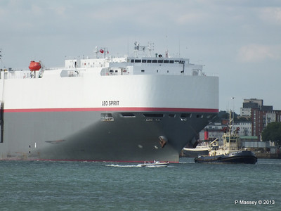 LEO SPIRIT Departs Southampton PDM 10-08-2013 17-39-11