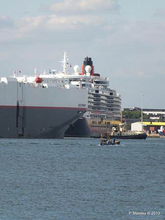 LEO SPIRIT Departs Southampton PDM 10-08-2013 17-34-26
