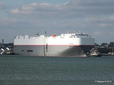 LEO SPIRIT Departs Southampton PDM 10-08-2013 17-39-37