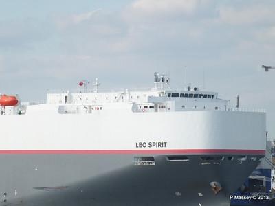 LEO SPIRIT Departing Southampton PDM 10-08-2013 17-43-14