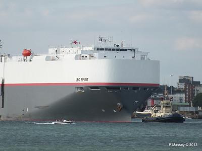LEO SPIRIT Departs Southampton PDM 10-08-2013 17-39-06