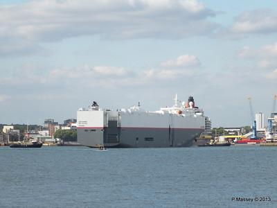 LEO SPIRIT Departs Southampton PDM 10-08-2013 17-33-59