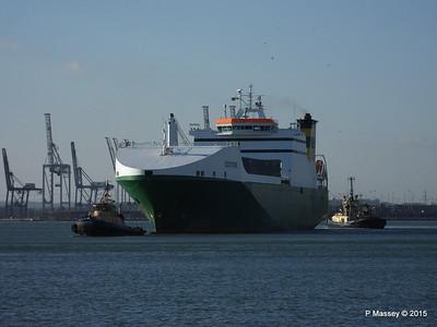 EDDYSTONE moving berths Southampton PDM 06-02-2015 14-50-12