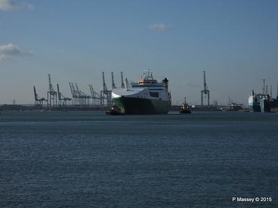EDDYSTONE moving berths Southampton PDM 06-02-2015 14-49-34