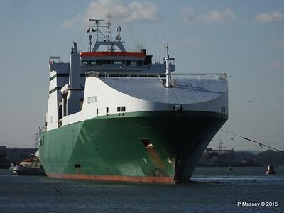 EDDYSTONE moving berths Southampton PDM 06-02-2015 14-53-03