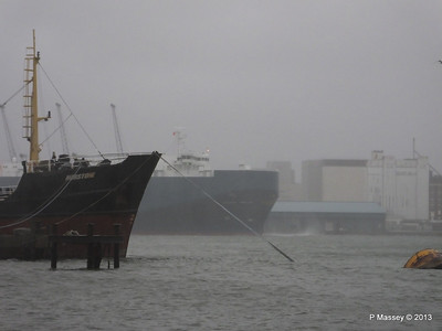 Misty AEGEAN BREEZE Departing Southampton PDM 21-12-2013 15-16-29