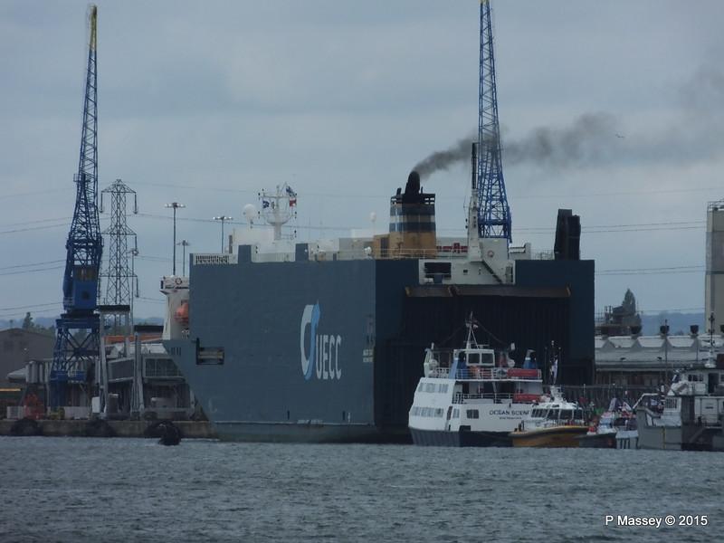 AUTO BAY OCEAN OCEAN SCENE Seawork 2015 vessels Southampton PDM 17-06-2015 14-02-57