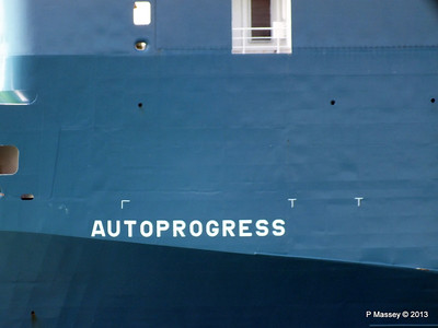 AUTOPROGRESS Departing Southampton PDM 06-06-2013 12-06-12