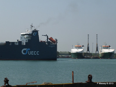 AUTOPROGRESS Departing Southampton PDM 06-06-2013 12-07-16