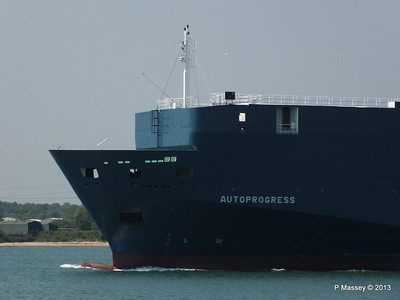 AUTOPROGRESS Departing Southampton PDM 06-06-2013 12-06-07