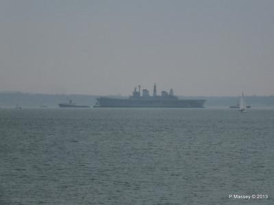 HMS ARK ROYAL CHRISTOS XXIII handing over tow PDM 20-05-2013 14-32-25