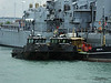 Army Workboats WB44 SIROCCO WB43 MISTRAL 1514F Fuel Lighter Portsmouth PDM 30-06-2014 12-12-17