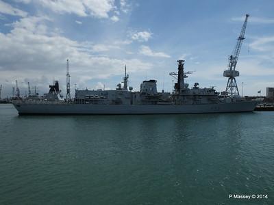 F83 HMS ST ALBANS Portsmouth PDM 30-06-2014 12-16-14