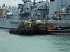 Army Workboats WB44 SIROCCO WB43 MISTRAL 1514F Fuel Lighter Portsmouth PDM 30-06-2014 12-12-22