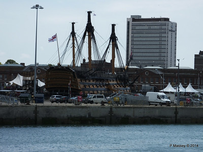 HMS VICTORY from Harbour Tour Portsmouth PDM 30-06-2014 12-15-04